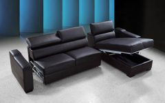 Leather Storage Sofas