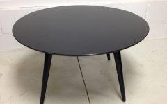 Black Circle Coffee Tables