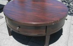Round Coffee Tables With Drawers