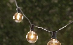 Outdoor Hanging String Light Bulbs