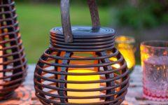 Outdoor Rattan Lanterns
