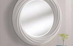 White Round Mirrors