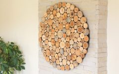Round Wood Wall Art
