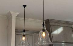 Rustic Glass Pendant Lights