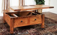 Square Coffee Table Storages