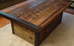 Rustic Storage Diy Coffee Tables