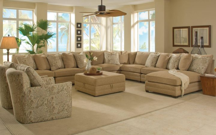 Wide Sectional Sofa
