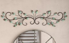 Scroll Leaf Wall Decor