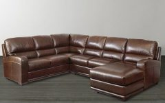 U Shaped Leather Sectional Sofas