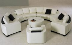 Semi Round Sectional Sofas