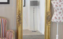 Shabby Chic Gold Mirrors