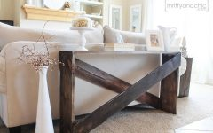 Shabby Chic Sofa Tables
