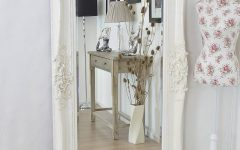 Shabby Chic Large Wall Mirrors