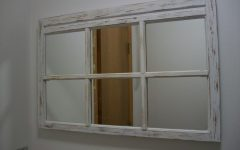 Shabby Chic Window Mirrors