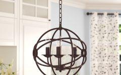 Shipststour 3-Light Globe Chandeliers