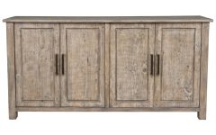 Reclaimed Pine & Iron 72 Inch Sideboards