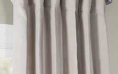 French Linen Lined Curtain Panels