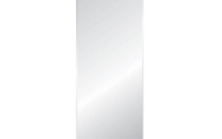 Full Length Frameless Wall Mirrors