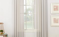 Emily Sheer Voile Single Curtain Panels