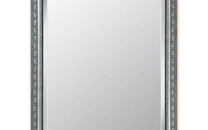 Rectangular Silver Mirrors
