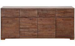 Acacia Wood 4-door Sideboards