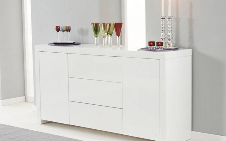 Cheap White High Gloss Sideboards