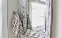 Silver Rectangular Bathroom Mirrors