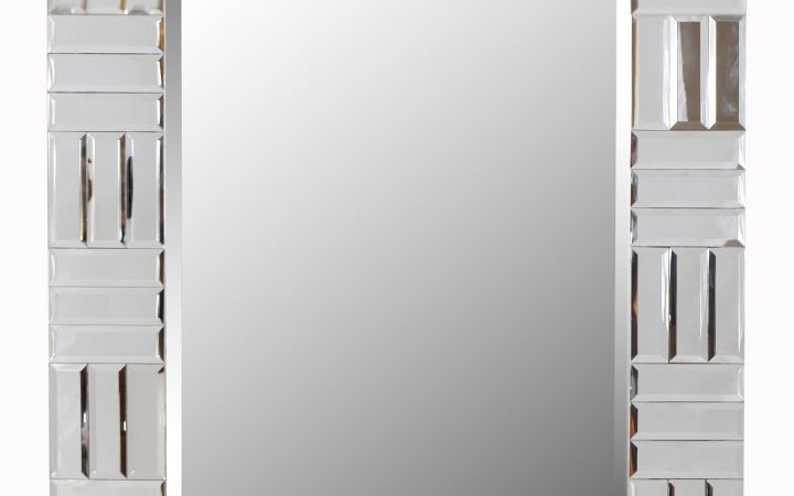 Silver Frame Accent Mirrors