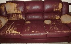 Simmons Bonded Leather Sofas