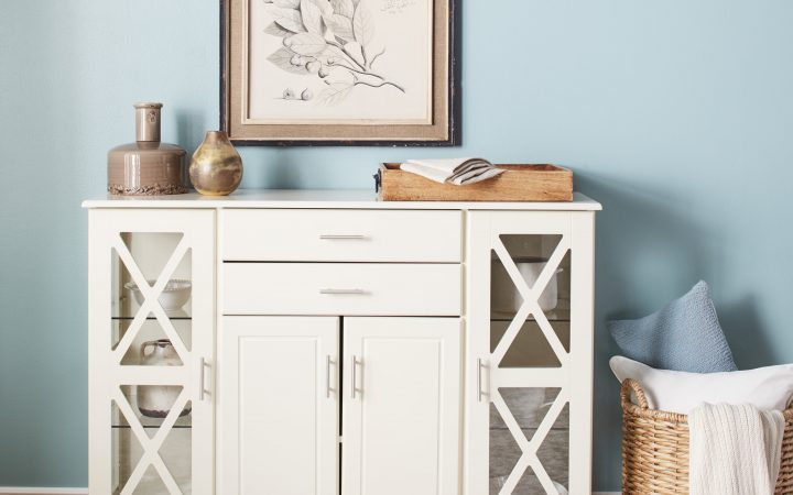 Simple Living Antique White Kendall Buffets
