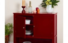Simple Living Red Montego Buffets