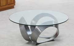 Small Glass Coffee Table Modern