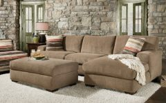 Small Sectional Sofas With Chaise and Ottoman