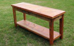 Barnwood Sofa Tables