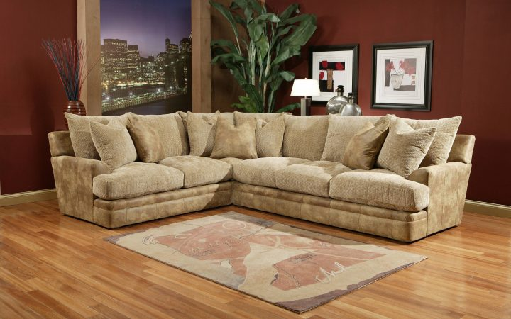 Down Filled Sectional Sofa