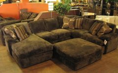 Sectional Sofa With Oversized Ottoman