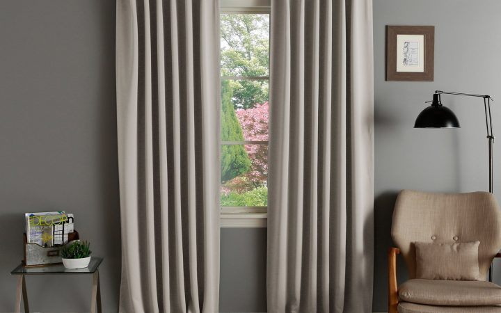 Solid Thermal Insulated Blackout Curtain Panel Pairs