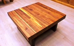 Large Solid Wood Coffee Tables