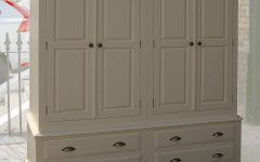 Farrow and Ball Painted Wardrobes