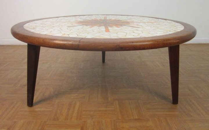 Solid Round Coffee Tables