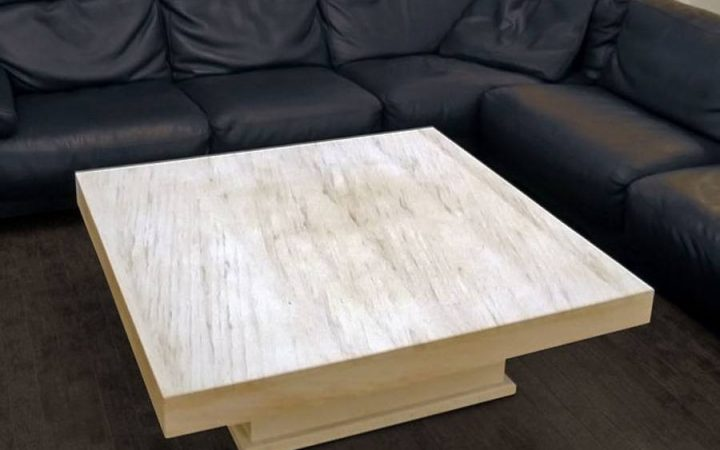 Square Stone Coffee Tables