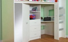 High Sleeper Bed With Wardrobes
