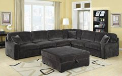 Charcoal Gray Sectional Sofas