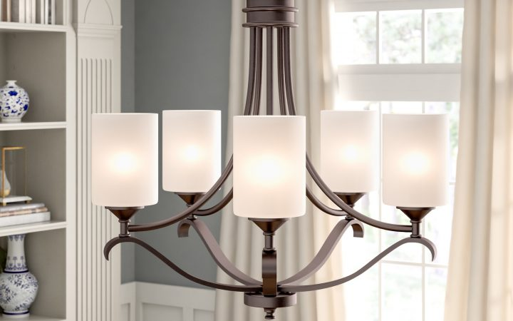 Suki 5-light Shaded Chandeliers