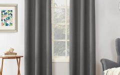 Cooper Textured Thermal Insulated Grommet Curtain Panels