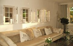Wall Mirrors with Shutters
