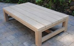 Wooden Garden Coffee Tables