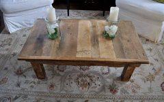 Rustic Barnwood Coffee Tables