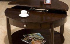 Round Storage Coffee Tables
