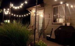 Hanging Outdoor Lights on House